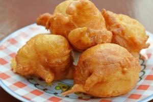 Buñuelos de bacalao con el Robot de Cocina Kcook Multi
