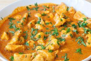 Pollo al curry con el Robot de cocina Mambo de Cecotec