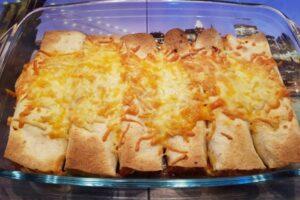 Canelones de tortitas con robot de cocina Moulinex Click Chef