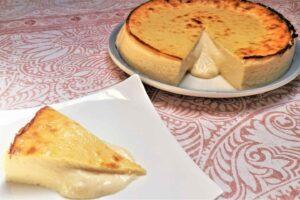 Tarta de queso estilo couland con robot de cocina Thermomix