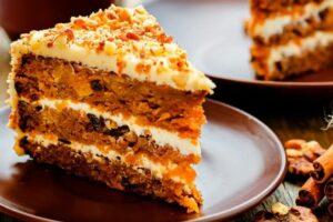 Carrot Cake o Tarta de Zanahoria con robot de cocina Cecotec Mambo