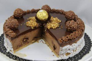 Tarta de Ferrero Rocher