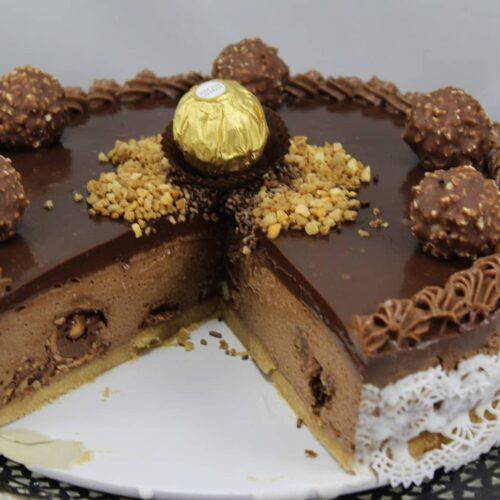 Tarta de Ferrero Rocher con Thermomix